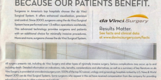 da Vinci Robot Advertisement Comes Under Criticism