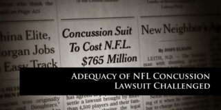 NFL Concussion Settlement Challenged