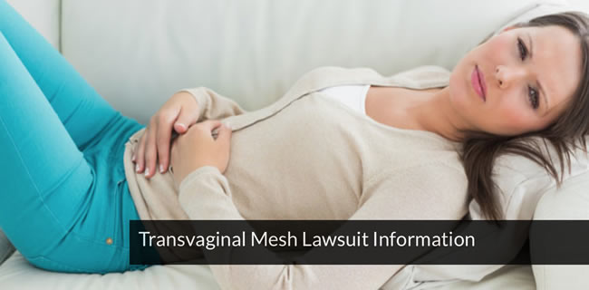 Transvaginal Mesh Settlement Information