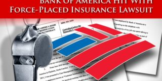 Force Placed Insurance Lawsuit Brought Against Bank of America
