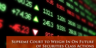 Securities Class Actions