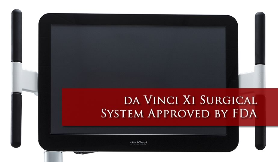 da Vinci Xi Surgical System Approved by FDA