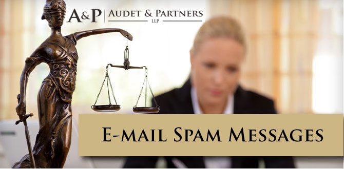 E-mail Spam Lawsuits