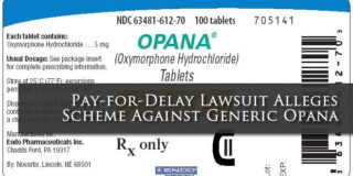 Pay-for-Delay Lawsuit re Opana