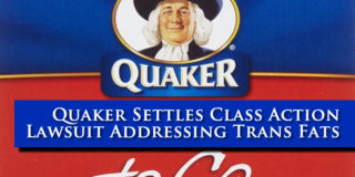Quaker Class Action Lawsuit Addresses Trans Fat
