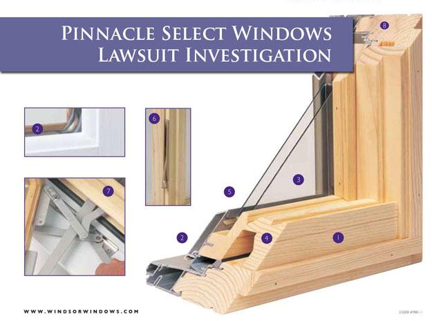 Pinnacle Select Windows Lawsuit