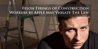 Felon Firings by Apple May Violate the Law
