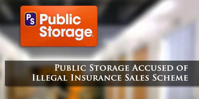 Public Storage Insurance Scam Lawsuit