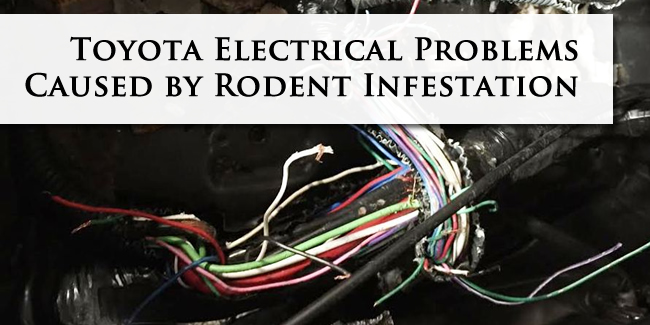 Toyota Electrical Problems | Defective Product Lawyer ... on