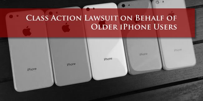 Apple iPhone Lawsuit
