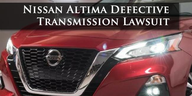 Nissan Altima Lawsuit
