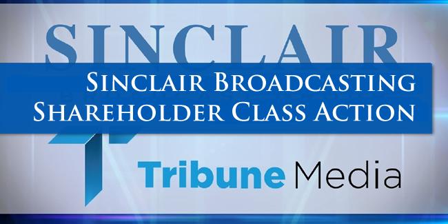 Sinclair Shareholder Lawsuit