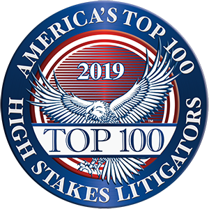 2019 America's Top 100 High Stakes Litigators