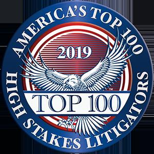 2019 America's Top 100 High Stakes Litigators