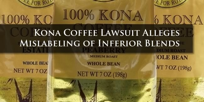 Kona Coffee Lawsuit