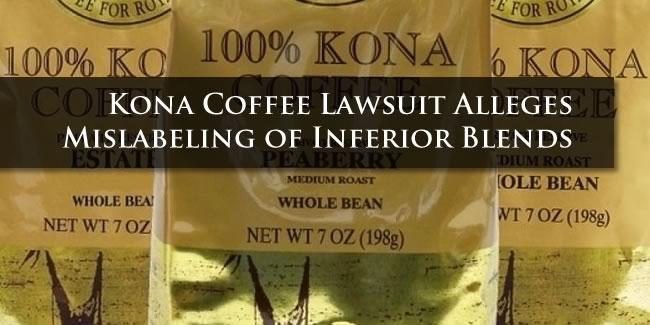 Kona Coffee Lawsuit