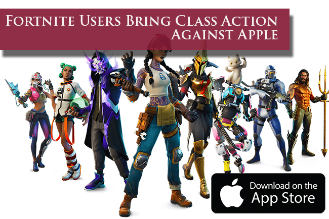 Fortnite User Class Action