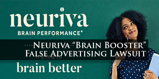 Neuriva Lawsuit