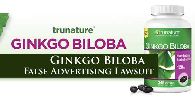 Ginkgo Biloba Lawsuit