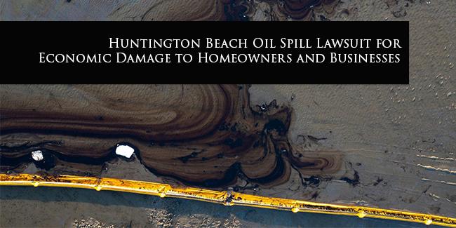 Huntington Beach Oil Spill Lawsuit