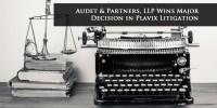 Audet Plavix Opinion