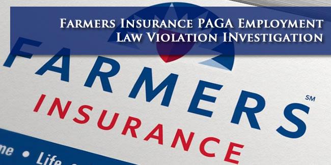 Farmers Insurance PAGA Lawsuit