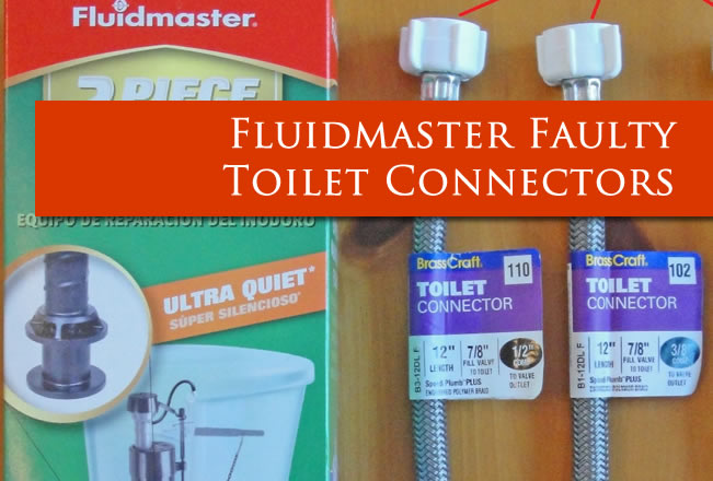 Fluidmaster Defective Toilet Connector Class Action