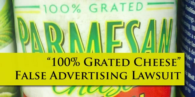 grated cheese lawsuit
