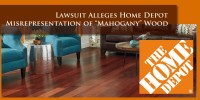 Home Depot Mahogany Lawsuit