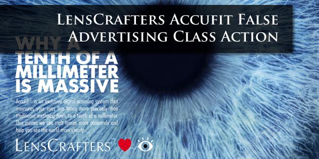 Lenscrafters Accufit Lawsuit