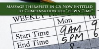 Massage Therapist Pay Lawsuit