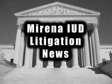 Mirena MDL News