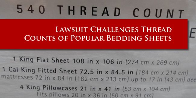 Sheet Thread Count Lawsuit