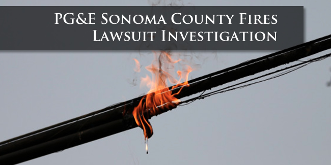 Sonoma County fire lawsuit