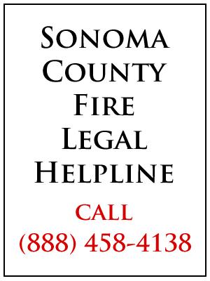 Sonoma County Fire Legal Helpline