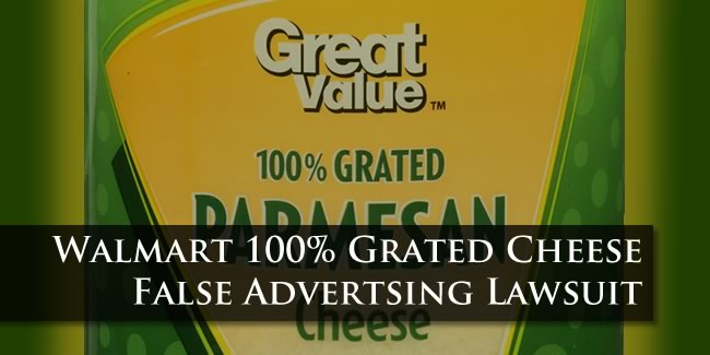 Walmart Grated Cheese Lawsuit